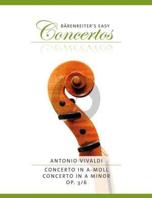 Vivaldi Concerto a-minor Op. 3 No .6 RV 356 Violin and Piano (edited by Kurt Sassmannshaus)