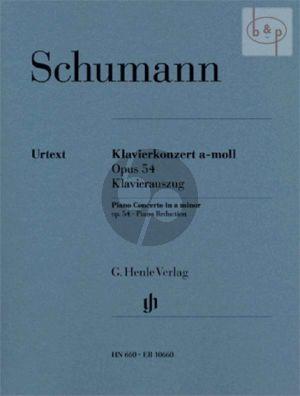 Konzert a-moll Op.54 (Klavier-Orch.) (KA)