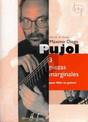 3 Piezas Marginales Flute-Guitar
