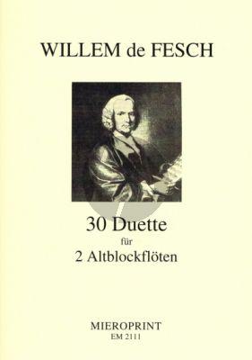 30 Duette Op.11