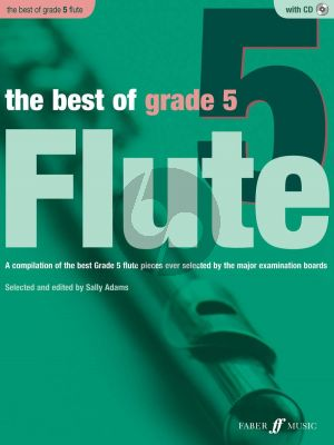 Adams The Best of Grade 5 Flute and Piano (Bk-Cd)