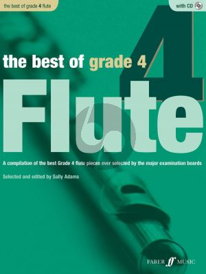 Adams The Best of Grade 4 Flute and Piano (Bk-Cd)