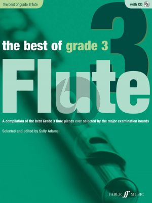 Adams The Best of Grade 3 Flute and Piano (Bk-Cd)