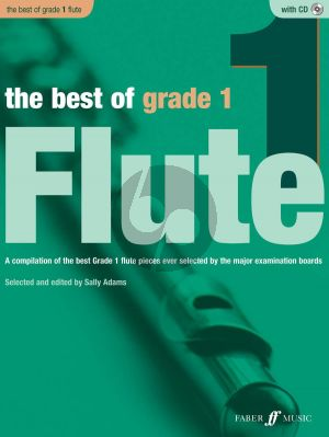 Adams The Best of Grade 1 Flute and Piano (Bk-Cd)