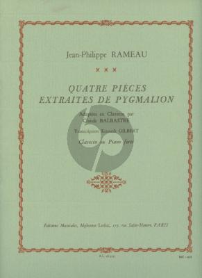 Rameau 4 Pieces (extraites de Pygmalion) (Claude Balbastre) Clavecin (transcr. Kenneth Gilbert)