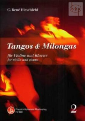 Tangos & Milongas Vol.2 Violin-Piano