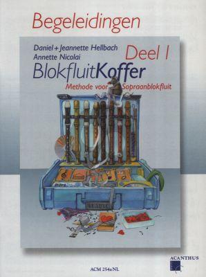 Hellbach-Nicolai Blokfluitkoffer Vol.1 alleen Pianobegeleiding (Methode voor Sopraanblokfluit)