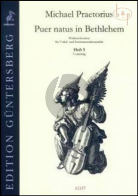 Puer natus in Bethlehem (Christmas Settings for Vocal and Instr.Ens.) Vol.5 (5 Part)