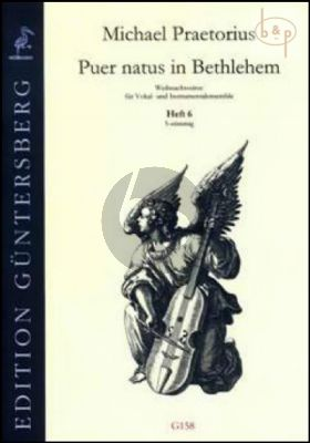 Puer natus in Bethlehem (Christmas Settings for Vocal and Instr.Ens.) Vol.6 (5 Part)