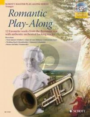 Romantic Play-Along (Trumpet) (12 Favourite Works with authentic orchestral backing tracks) (Bk-Cd)