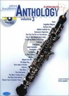 Anthology for Oboe Vol.3 (24 All Time Favorites) (Bk-Cd)