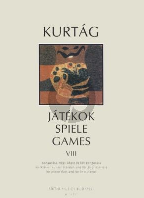 Kurtag Games (Jatekok) Vol.8 Piano 4 Hands and 2 Pianos