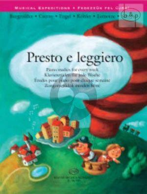 Presto e Leggiero (Piano Studies for Every Week)