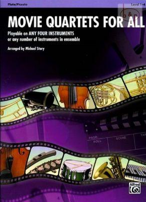 Movie Quartets for All (4 Flutes[Picc.)