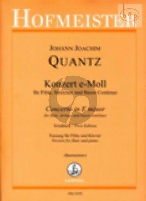 Concerto e-minor QV 5.113 (Flute-Str.-Bc)