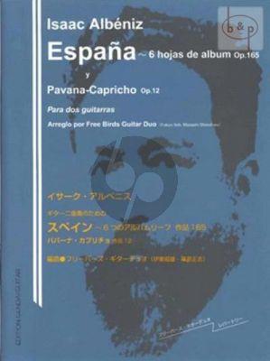 Espana Op.165 and Pavana-Capricho Op.12