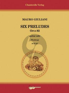 Giuliani 6 Preludes Opus 83 Guitar (Simon Wynberg)
