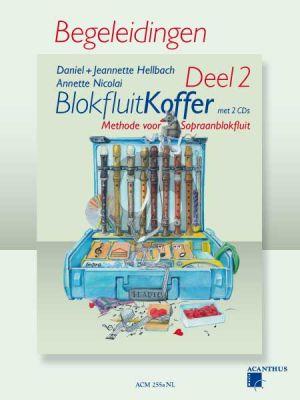 Hellbach-Nicolai Blokfluitkoffer Vol.2 alleen Pianobegeleiding (Methode voor Sopraanblokfluit)