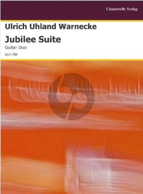 Warnecke Jubilee Suite 2 Guitars Score/Parts (interm.-adv.)