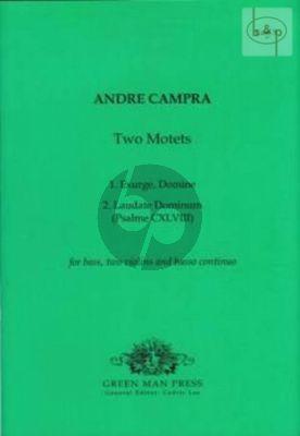 2 Motets (Bass- 2 Violins.-Bc)