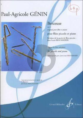 Berceuse Op.6 (orig. Flute) (Beaumadier)
