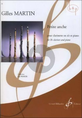 Petit anche for Clarinet in Bb and Piano