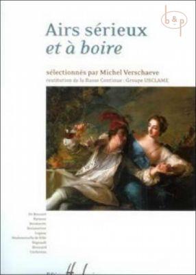 Airs Serieux et a Boire (2 Voices[Sopr.-Bar.]- BC)