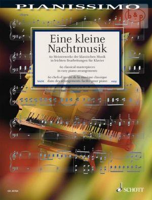 Eine Kleine Nachtmusik (60 Meisterwerke der klassischen Musik) (arr. H.G.Heumann) (easy grades)