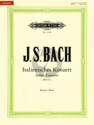 Bach Italienisches Konzert BWV 971 Klavier (edited by Ultich Bartels)