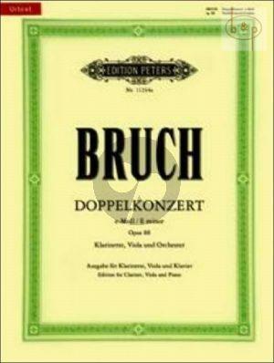 Double Concerto e-minor Op. 88 Clar. [A]-Viola-Piano)