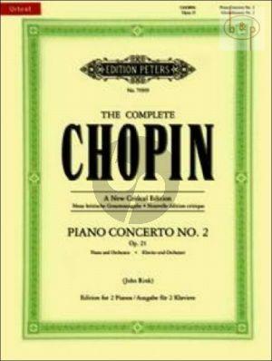 Chopin Concerto No.2 Op.21 f-minor Piano and -Orchestra (piano red.)