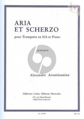 Arutiunian Aria et Scherzo Trompette et Piano