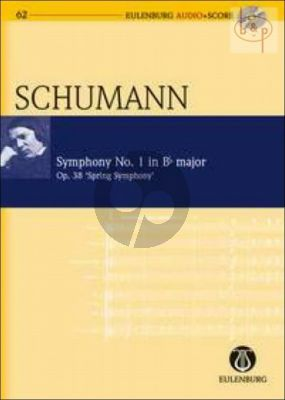 Symphony No.1 Op.38 B-fl.major (Spring Symphony) (Study Score with Audio CD)