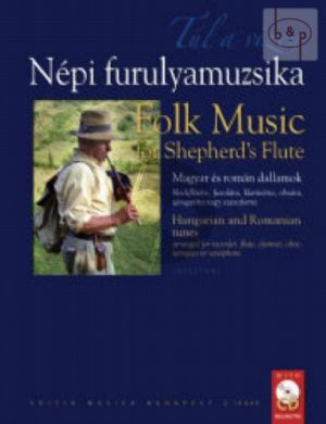 Folk Music for Shepherd's Flute (Hungarian and Romanian Tunes) (Recorder[Flute/Clar./Oboe or Sax.])