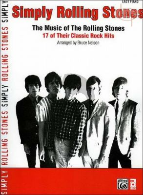 Simply Rolling Stones (17 of their Classic Rock Hits) (Easy Piano)