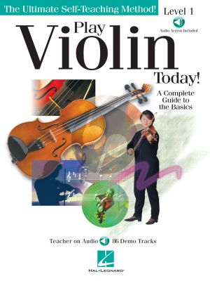 Play Violin Today! Level 1 (A Complete Guide to the Basics) (Book with Audio online)