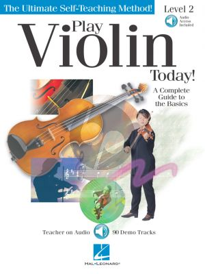 Play Violin Today! Level 2 (A Complete Guide to the Basics) (Book with Audio online)