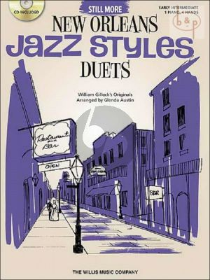 Still More New Orleans Jazz Styles for Piano Duet