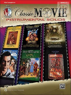 Classic Movie Instrumental Solos (Alto Sax.) (Bk-Cd)