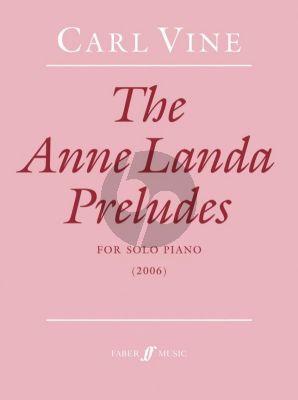 Vine Anne Landa Preludes Piano solo
