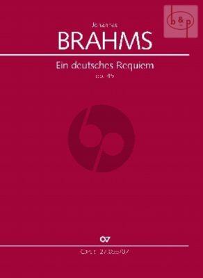Ein Deutsches Requiem Op.45 (SB soli-SATB-Orch.)