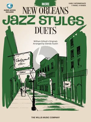 Gillock More New Orleans Jazz Styles Duets (Bk-Cd)