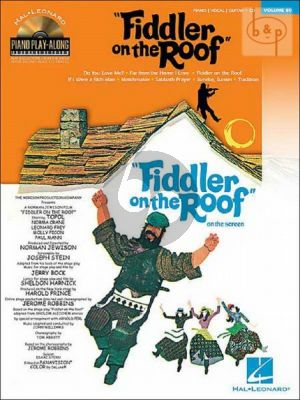 Fiddler on the Roof (Piano Play-Along Series Vol.80)