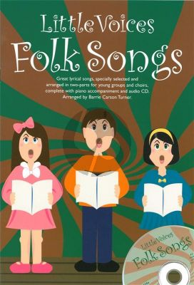 Little Voices Folksongs 2-part Choir-Piano
