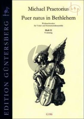 Puer natus in Bethlehem (Christmas Settings for Vocal and Instr.Ens.) Vol.11