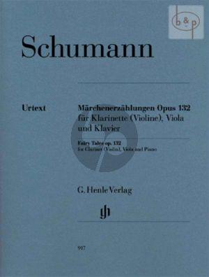 Marchenerzahlungen Op.132 (Clar.(Bb) (Vi.)-Va.-Piano) (Score/Parts)