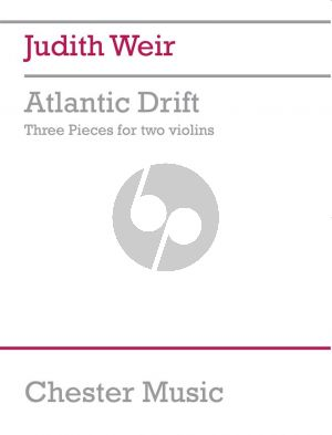 Weir Atlantic Drift 2 Violins (3 Pieces)