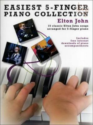 Easiest 5 Finger Piano Collection
