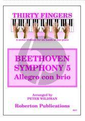 Wildman 30 Fingers Beethoven Allegro con brio from SYMPHONY 5