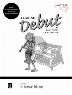 Clarinet Debut (12 Easy Pieces for Beginners)